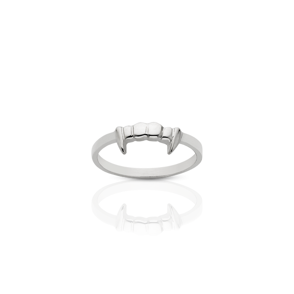 Meadowlark Fang Stacker - Sterling Silver