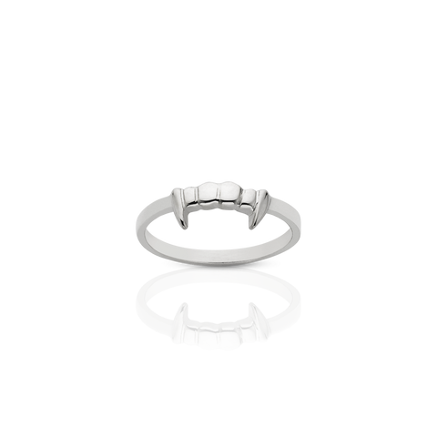 MEADOWLARK FANG STACKER RING - STERLING SILVER