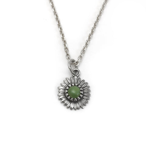 Nick Von K - Daisy Necklace - Greenstone