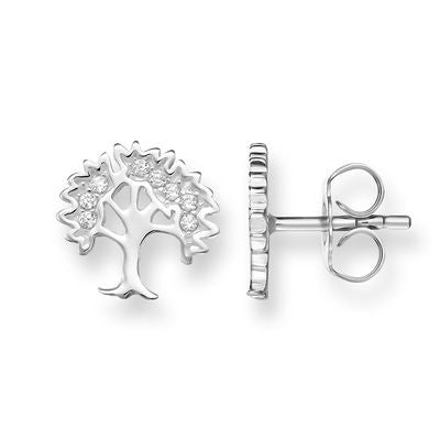 THOMAS SABO STERLING SILVER GLAM & SOUL TREE STUDS