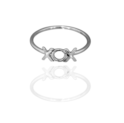 Boh Runga Small But Perfectly Formed Lil Hugs & Kisses Ring - Size O