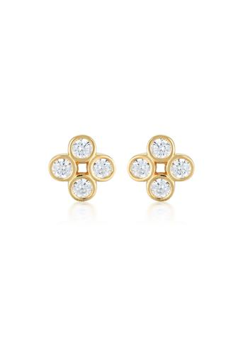Georgini Stellar Lights Gold Twinkle Studs