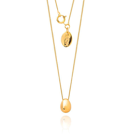 Boh Runga Egglet - 9ct Yellow Gold