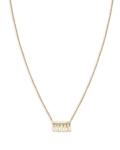 Rosefield - Iggy Multi Drop Necklace Gold