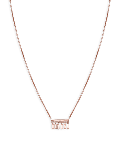 Rosefield - Iggy Multi Drop Necklace Rose Gold