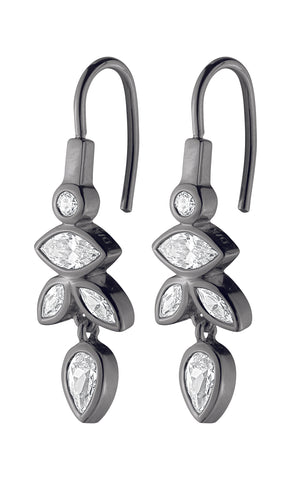 DYRBERG/KERN JONI OX CRYSTAL EARRINGS