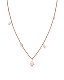Rosefield - Iggy Shaped Drop Necklace Rose Gold