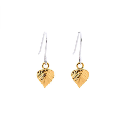 Wild HeartSpace Earrings 9CT Leaves
