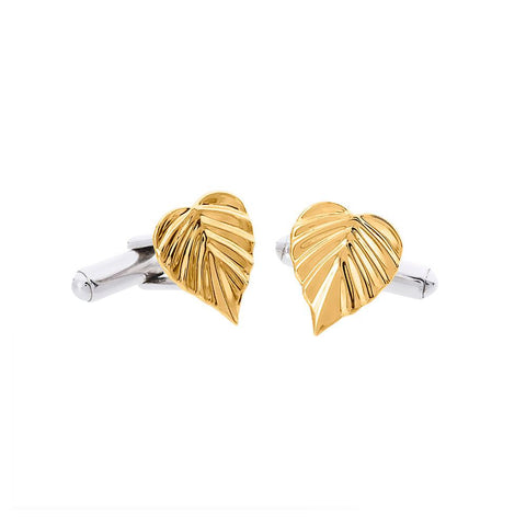 Wild HeartSpace Cufflinks 9CT Leaves