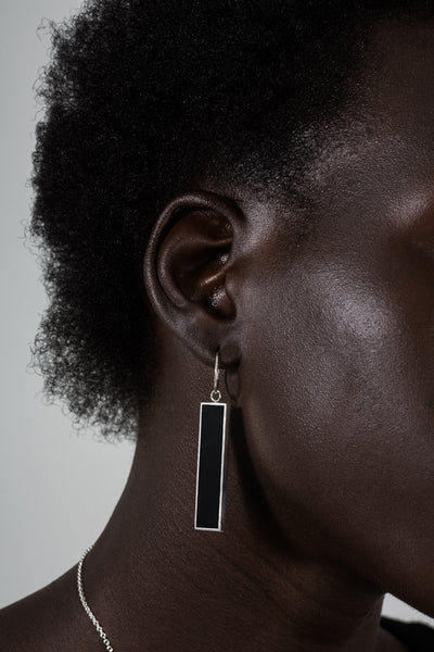 Stolen Girlfriends Strip Sleeper Earrings