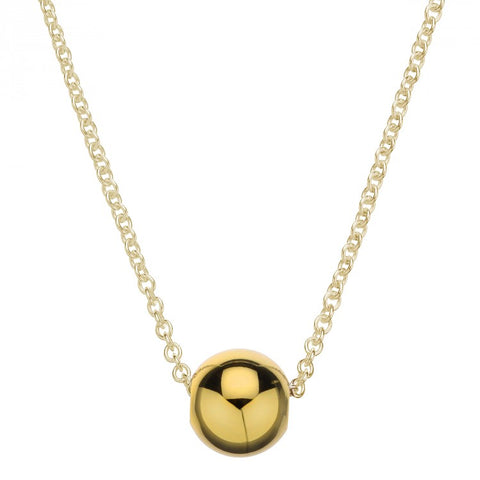 Najo Jiggle Necklace - Yellow