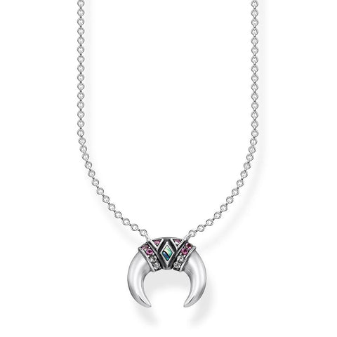 Thomas Sabo Paradise Crescent Necklace - TKE1840