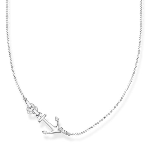 Thomas Sabo Love Anchor CZ Necklace - TKE1851