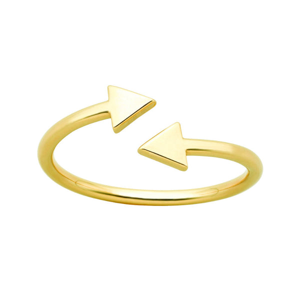 Karen Walker Celestial Arrows Ring Gold