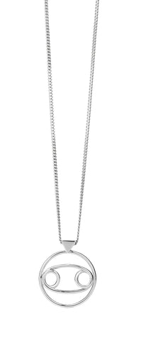 KAREN WALKER CANCER NECKLACE SILVER