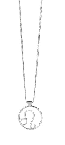 KAREN WALKER LEO NECKLACE SILVER