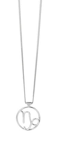 KAREN WALKER VIRGO NECKLACE SILVER