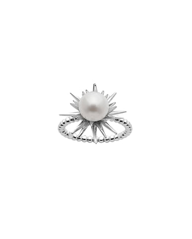 Karen Walker Forbidden Ring - Silver, Pearl