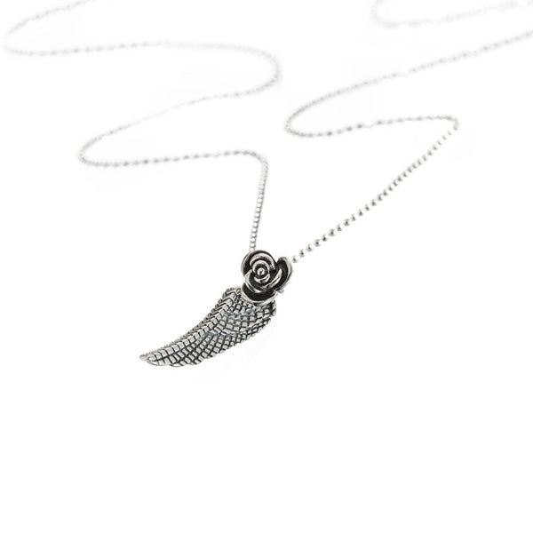 LITE WING & ROSE PENDANT