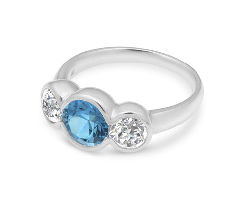 MichaelJohn Jewellery 3-Stone Ring