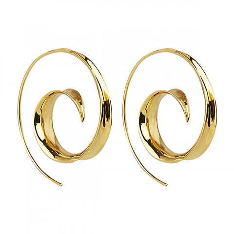 Najo Ravishing Ringlets Earring - Yellow