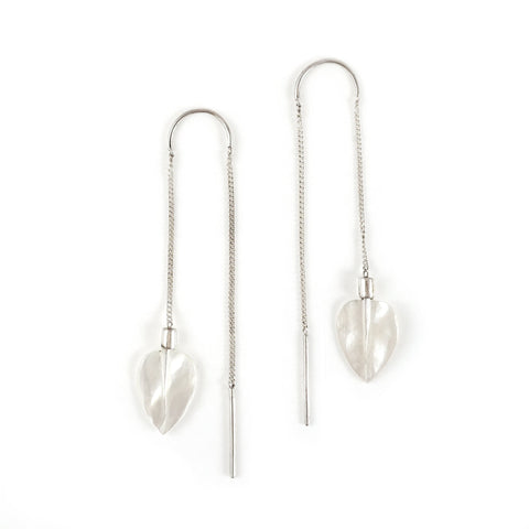 Nick Von K Airborne Earrings Mother of Pearl