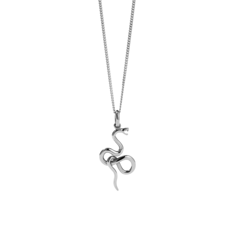 Meadowlark Medusa Necklace - Sterling Silver
