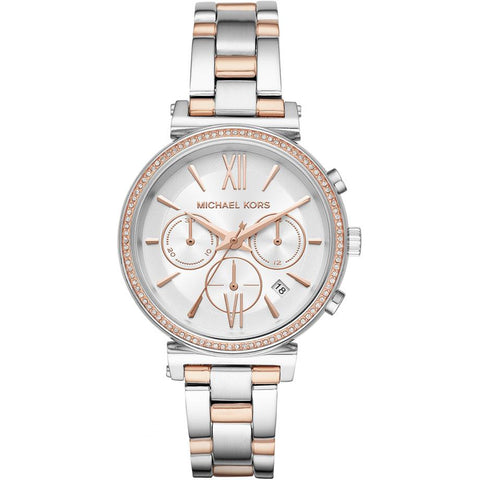 Michael Kors Women's Sofie Two-Tone Watch - MK6558