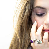 Nick Von K Purple Moonsnake Ring