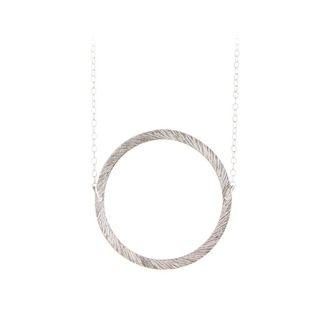 Circle - Open Coin Necklace