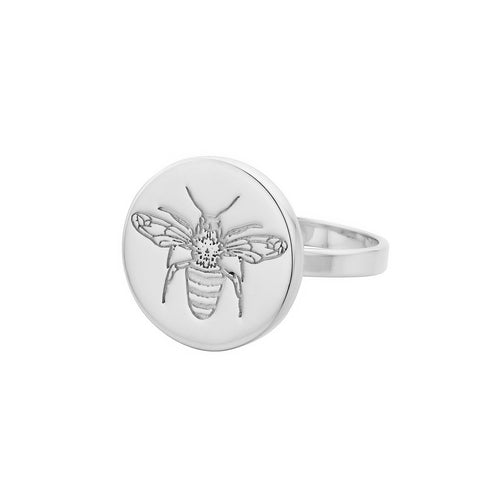 Napoleon Sterling Silver Bee Ring