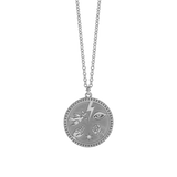 Meadowlark Talisman Necklace - Silver & Reclaimed White Diamond