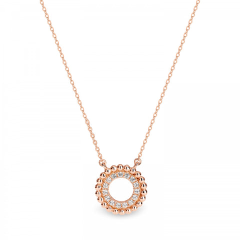 Georgini Aries Pendant - Rose Gold