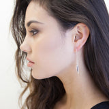 Nick Von K Star Pendulum Earrings