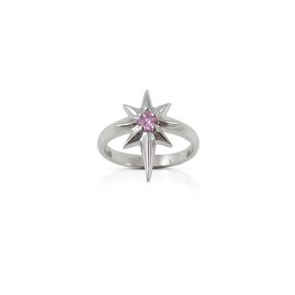 Nick Von K Pink Sapphire Little Star Ring