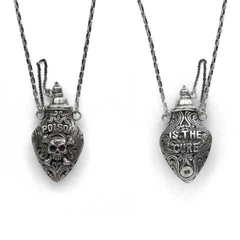 NICK VON K POISON IS THE CURE NECKLACE