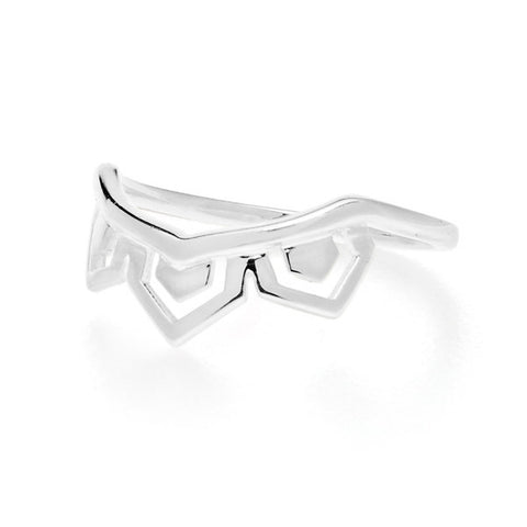 Wanderlust Silver Ring - Size O