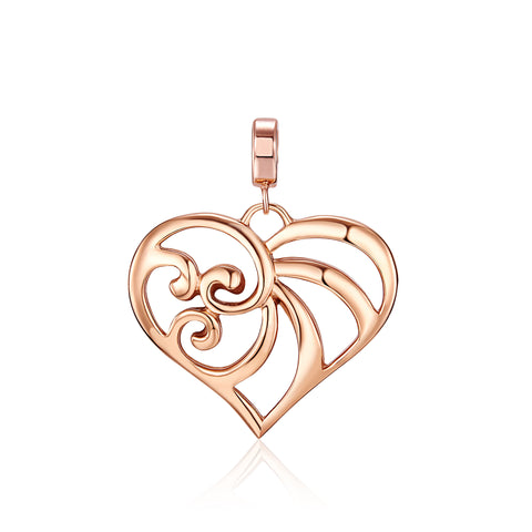 Kagi Rose Gold Cherish Pendant - Small