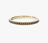 Meadowlark Sapphire Eternity Band - 9ct Gold & Blue Sapphire