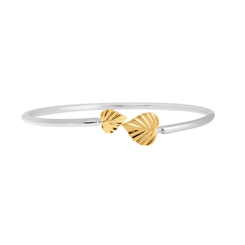 Wild Heart Space Cuff Bracelet 9CT