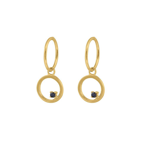 Republic Road Mini Musing Free to Roam Earrings - Gold Plate
