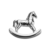 STOW Rocking Horse (Adored) Charm - Sterling Silver