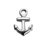 STOW Anchor (Strength) Charm - Sterling Silver