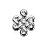 STOW Infinity Knot (Wisdom) Charm - Sterling Silver