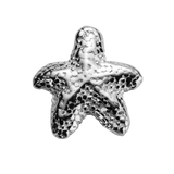 STOW Starfish (Unique) Charm - Sterling Silver