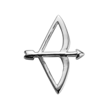 STOW Bow & Arrow (Beloved) Charm - Sterling Silver
