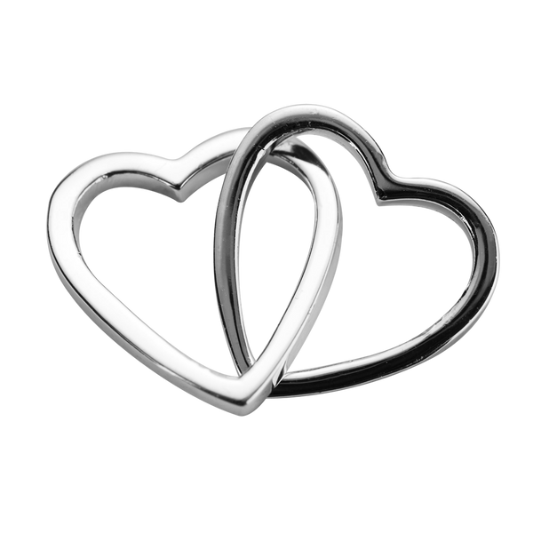 STOW Love Hearts (Together) Charm - Sterling Silver