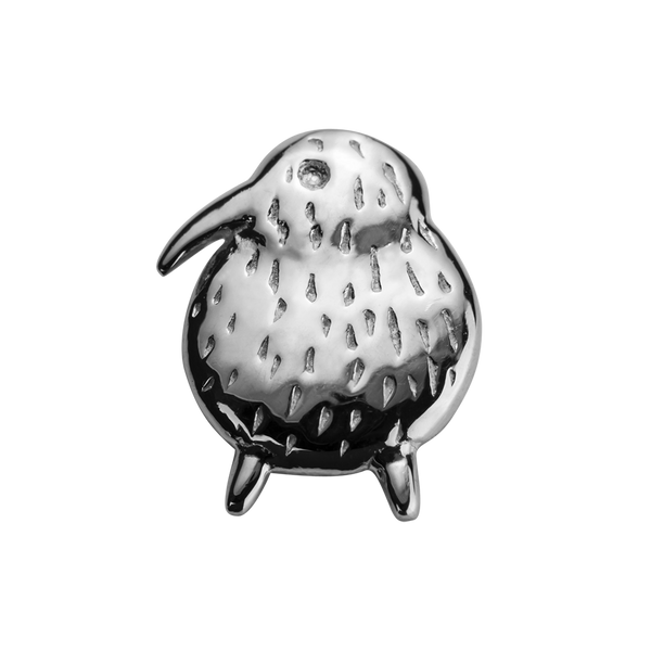 STOW Kiwi (Unique & Special) Charm - Sterling Silver