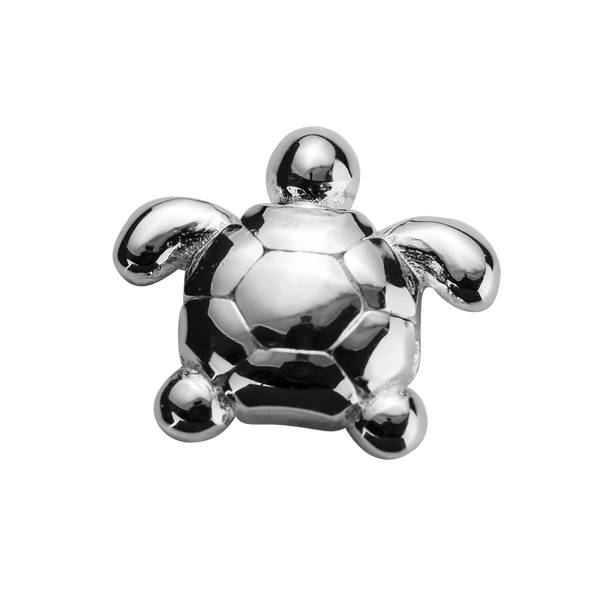 STOW Turtle (Determined) Charm - Sterling Silver