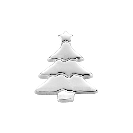 STOW Christmas Tree (Delightful) Charm - Silver